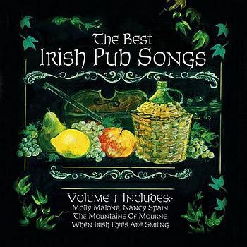 top irish bar songs various the best irish pub songs volume 1 cd at discogs