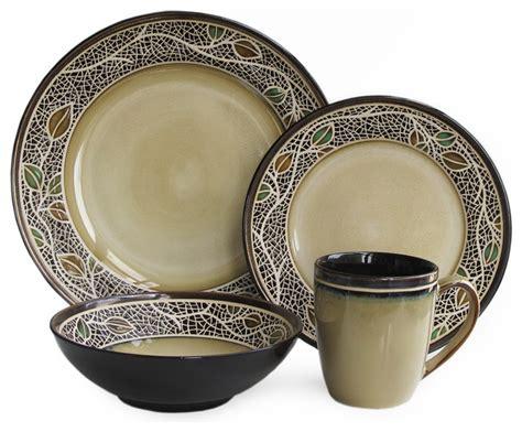 Modern Dishware Sets American Atelier Cordoba 16 Dinnerware Set