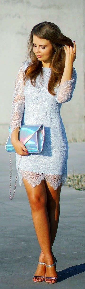 imgs for gt light blue lace summer dress