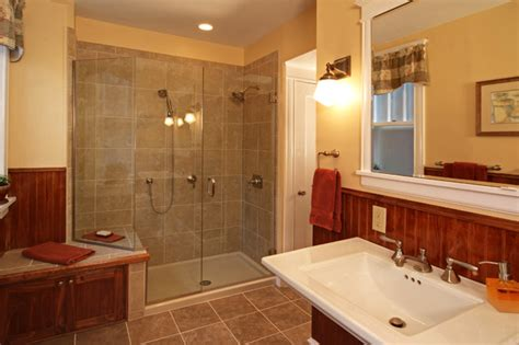 Arts And Crafts Bathroom Ideas Arts Crafts Revival Traditional Bathroom St Louis By Mosby Building Arts
