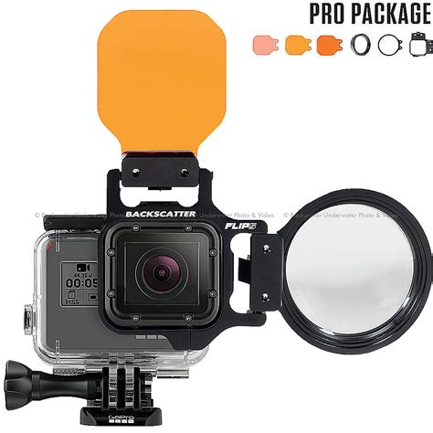 mini lens flip5 pro package with three filters 15 macromate mini lens