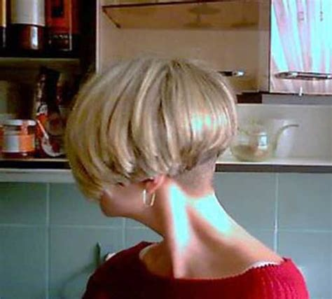 www ponytail with high nape shave haircut com 15 cool shaved nape bob haircuts bob hairstyles 2017