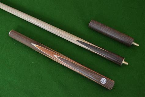 Handmade Snooker Cues - 57 quot handmade spliced snooker cue multi spliced