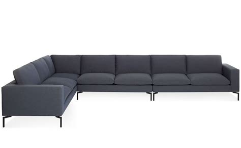 large modern sectional new standard large sectional sofa hivemodern com