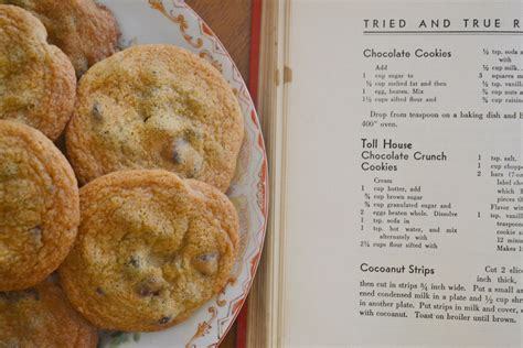 toll house cookie recipe toll house cookies the original chocolate chip cookie yankee magazine