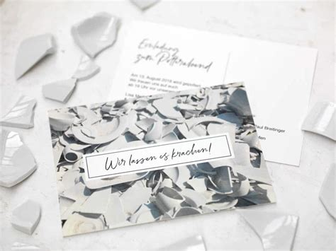 Polterabend Einladung by Freebie Einladung Polterabend Hochzeit Planen Mit