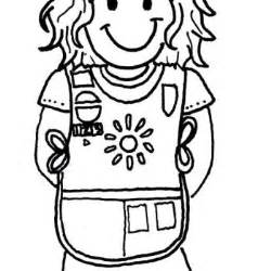 daisy scout free coloring pages on art coloring pages