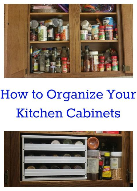 How To Arrange Your Kitchen Cabinets by How To Organize Kitchen Cabinets Organized Spaces