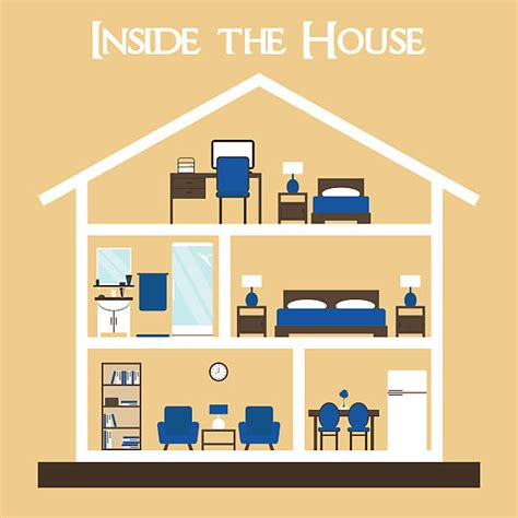 house interior vector dollhouse clip art vector images illustrations istock