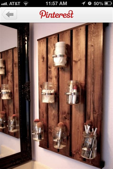 pallet wall bathroom pallet bathroom wall for the home pinterest