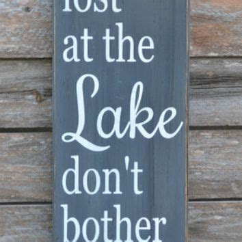 lake sign lake house decor chalkboard from soflco.com | my