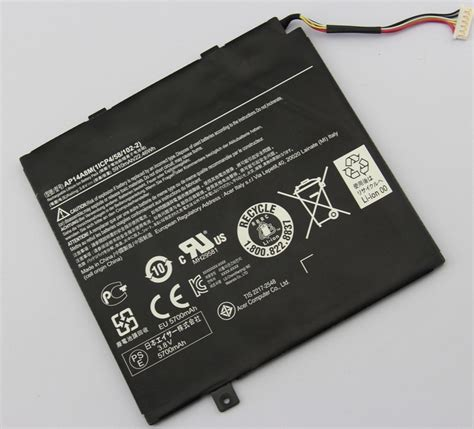 battery reset button acer laptop genuine ap14a8m kt0020g004 acer aspire switch 10 sw5 012p