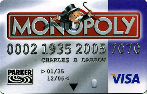 monopoly bank card us history monopoly