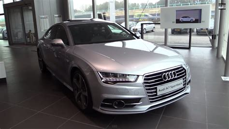 Audi A7 S Line Interior by Audi A7 S Line 2017 Start Up In Depth Review Interior