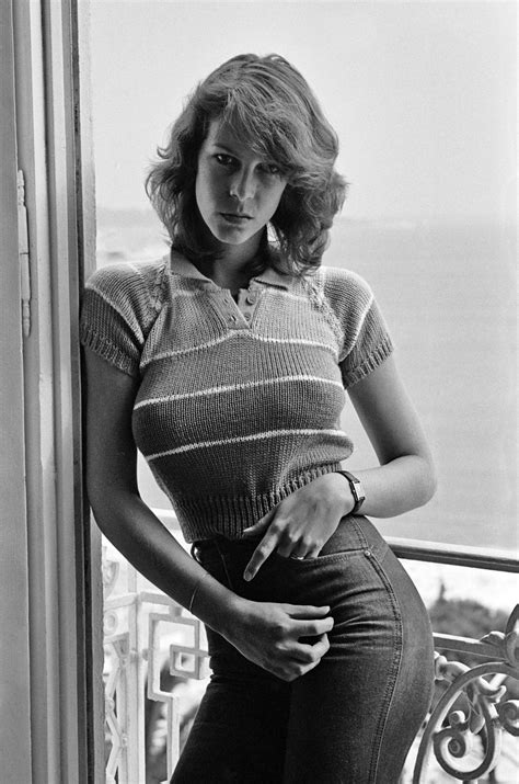jamie lee curtis early jamie lee curtis at the cannes film festival 1980