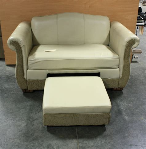Rv Furniture Used by Rv Furniture Used Leather Suede Flexsteel Loveseat With