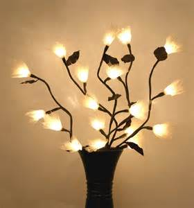twig light fixtures leaf stem twig lights