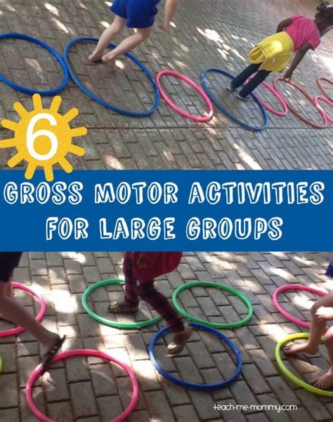 large group preschool christmas activities 6 gross motor activities for large groups teach me