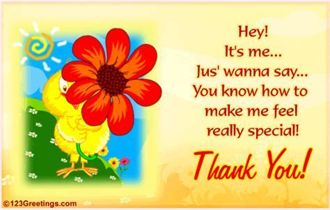 A Special Thanks  Free Thank You eCards, Greeting Cards