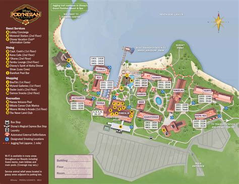 resort map new look 2013 resort hotel maps photo 26 of 37