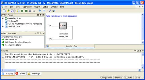 free xilinx design tools impact 12 4 adding spi for indirect programming