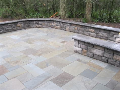 How To Build A Patio Retaining Wall by Blue Patio Retaining Wall