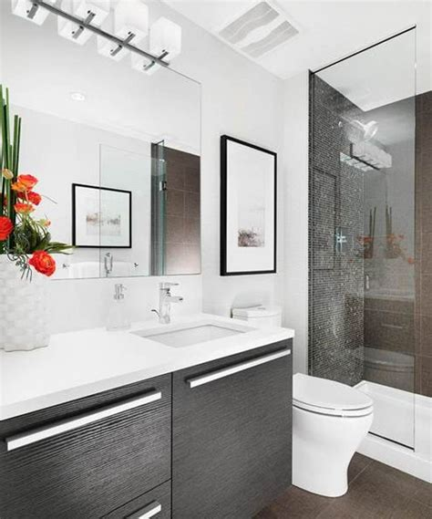 small contemporary bathroom design decoration