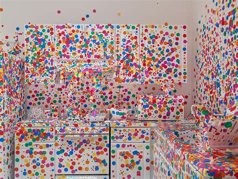 Polka Dot Stickers For Walls yayoi kusama brings dotted obliteration room to new york