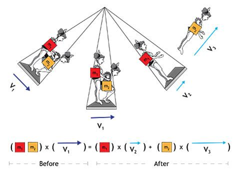 physics swing linear momentum video circus pbs physical science