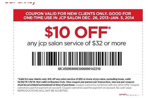 jcpenney salon coupons august 2018