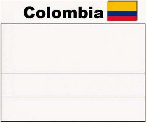 Columbia Flag Coloring Page A Colombian Flag Free Coloring Pages by Columbia Flag Coloring Page