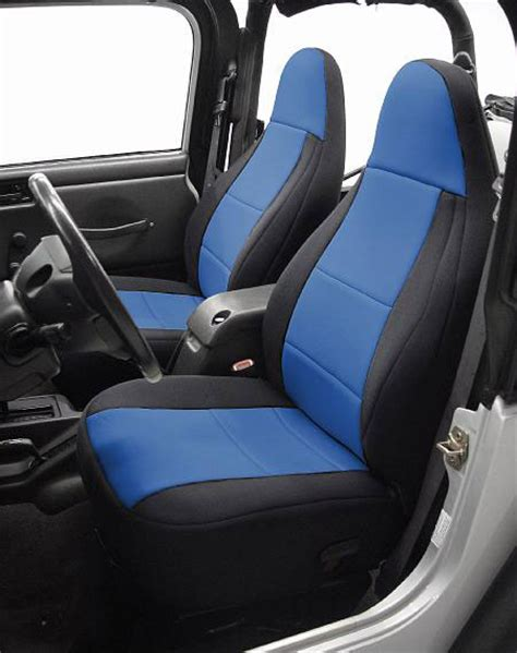 2001 jeep wrangler sport seat covers all things jeep neoprene front seat covers for jeep