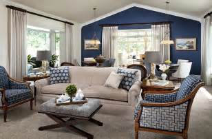 blue living room color schemes blue and white interiors living rooms kitchens bedrooms