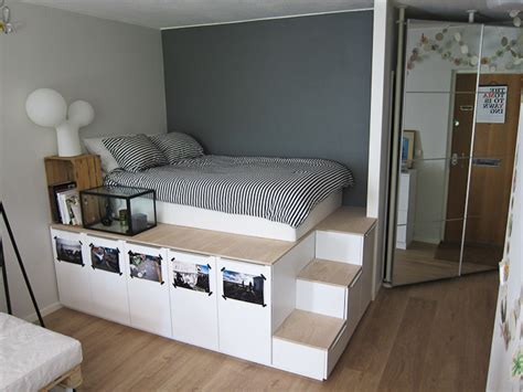 ikea cabinets bedroom ikea bed hacks how to upgrade your ikea bed