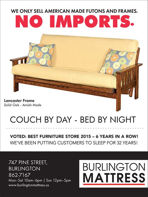 futon mattress burlington vt burlington futon