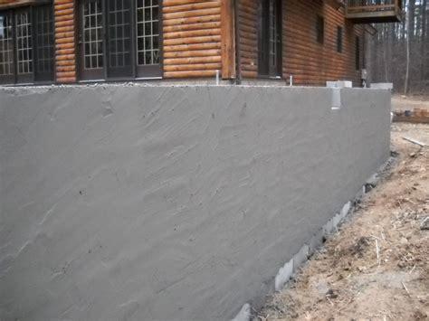 parging basement walls cement parging family firewood excavating