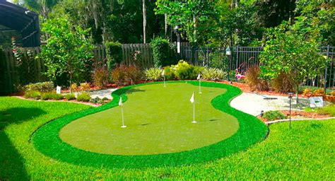 putting greens for backyards backyard putting greens synthetic grass home putting