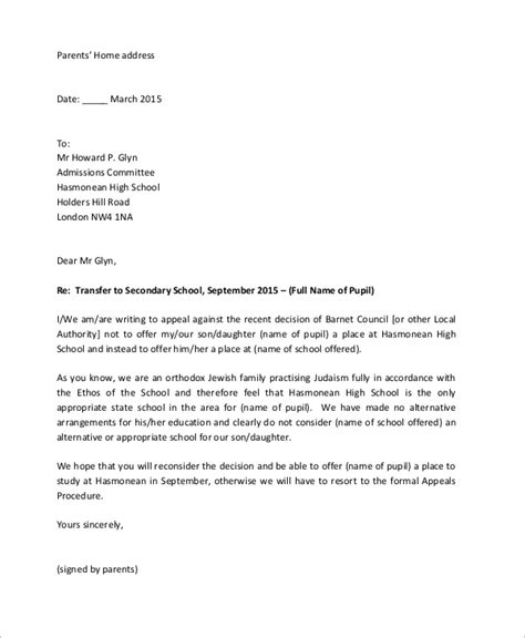 Appeal Letter Nus How To Write A Letter For College Admission