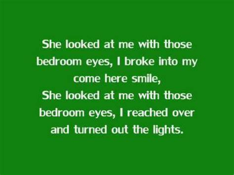 bedroom eyes lyrics bedroom eyes natty with lyrics youtube