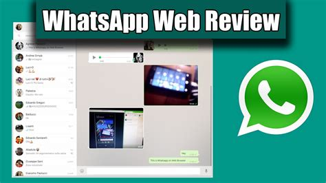 whatsapp web tutorial youtube whatsapp web tutorial and review with windows phone 8 1