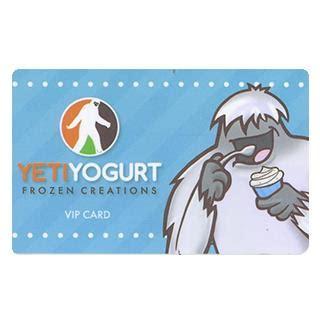 Yeti Gift Card - bizx yeti yogurt 25 gift card