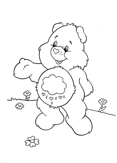 share bear coloring page share bear coloring pages images