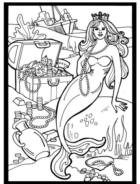 libro mermaids coloring book an mejores 593 im 225 genes de fantastical coloring pages en libros para colorear