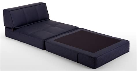 Fold Up Chair Bed by Black Color Convertible Ottoman Folding Bed Sleeper With