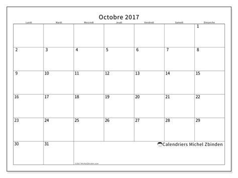 Calendrier Octobre Et Novembre 2017 Calendriers Octobre 2017 Ld