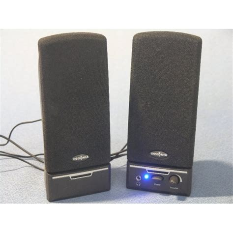 insignia computer speakers with headphone jack allsold