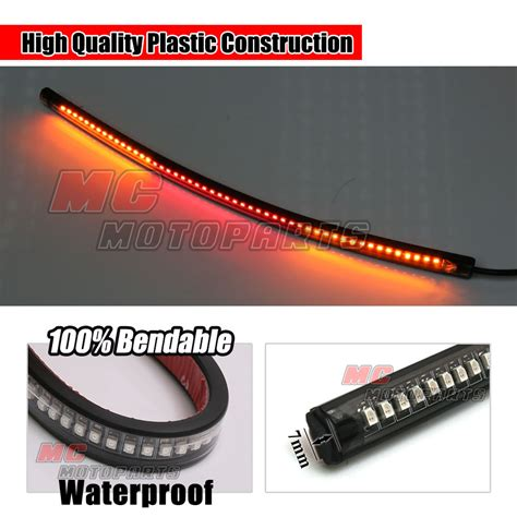33cm Integrated Turn Signal Rear Brake Led Light Strip How To Fit Led Lights