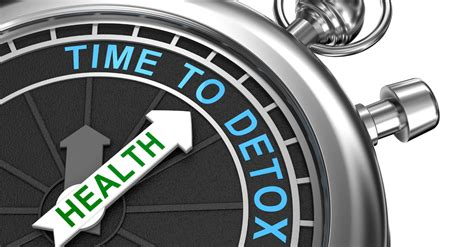 Detox Timetable by Detox Diets Report Weight Loss Resources