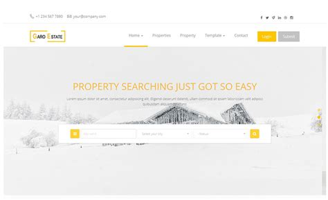 templates bootstrap real estate download multi page multipurpose free html5 real estate
