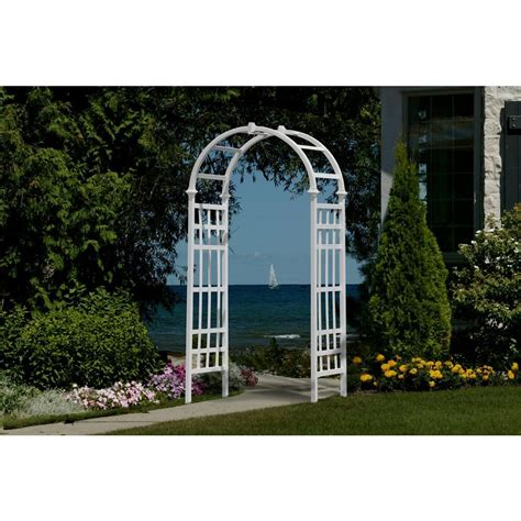 Garden Arbor With Gate Home Depot Arbors Trellises Garden Center The Home Depot How To Build